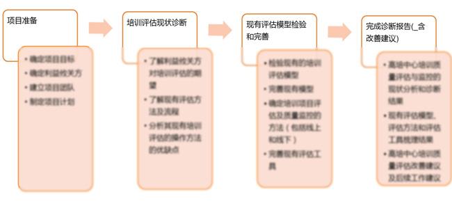 评估项目流程
